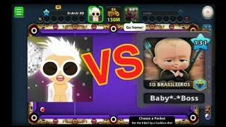 baby boss (vs) shanu xd 😱😱😱 / 8pool