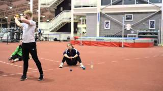 Specific S&C for Javelin Throwers - (Ball Throwing) - Video 2