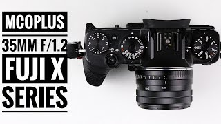 Mcoplus 35mm f/1.2 for Fuji X Series thumbnail