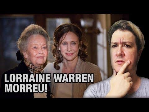 VAMOS FALAR UM POUCO DA LORRAINE WARREN, QUE INSPIROU O INVOCAÇÃO DO MAL. VEM!