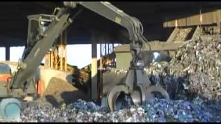 Dall'imballaggio d'acciaio al riciclo: la raccolta e la lavorazione del rottame
