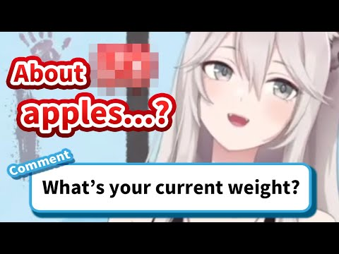 Botan reveals her weight in a smart way [Hololive/Eng sub]