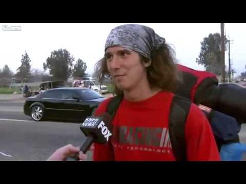 Homeless Kai news interview (original uncensored video)