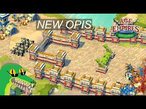 Age Of Empires Online Project Celeste - New Battle Of Opis - Celts