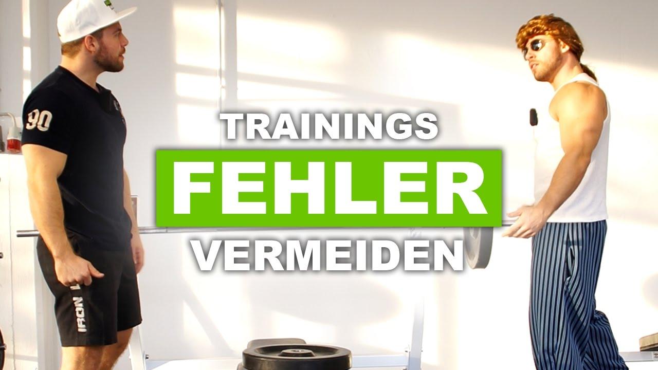 Die fatalsten Trainingsfehler und Unfälle - ft. Muskel-Manni - YouTube