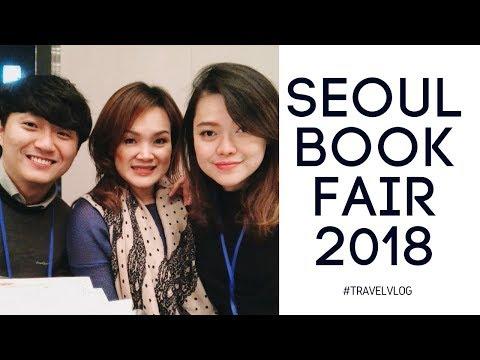 Seoul Book Business Fair di Korea 2018 - Travel Vlog