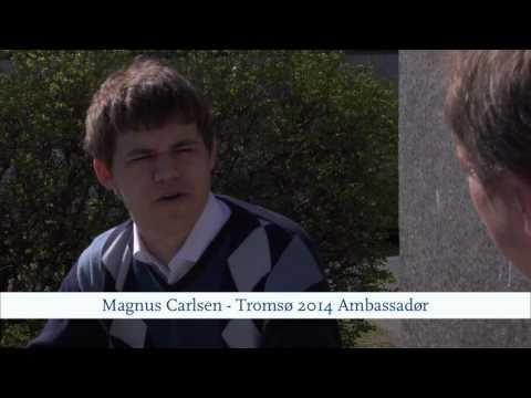 Tromso 2014 Chess Olympics - Magnus Carlsen interviewed