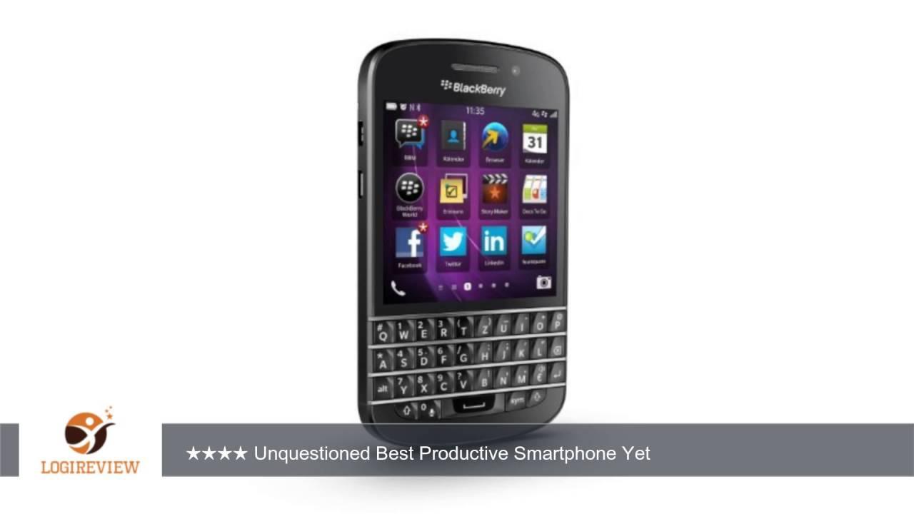 Blackberry Q10 Unlocked Cellphone 16gb Black Review Test Youtube
