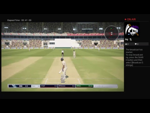 Playing Ashes Cricket better than England