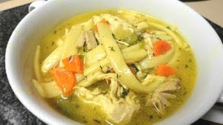 Chicken Noodle Soup - from scratch
