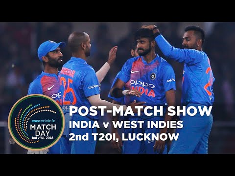 Matchday, India v West Indies, 2nd T20I, post-show | LIVE STREAM