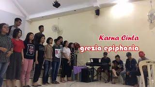 Karna cinta - Grezia epiphania  (Lagu Natal)