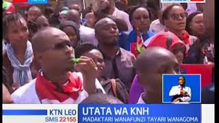 Mzozo umeendelea kuikumba hospitali ya rufaa ya Kenyatta