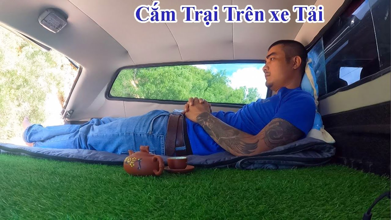 Cắm Trại Trên Xe Ô tô Pha Ấm Trà Đặc Biệt Ngắm Cảnh Núi Rừng Truck Camping Vietnamese - Lâm ca