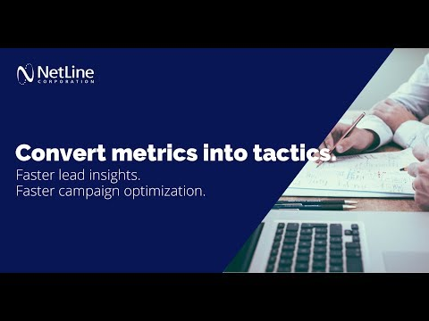 NetLine Corporation Introduces Real-time Dynamic Reporting and Interactive Data Visualization Tools