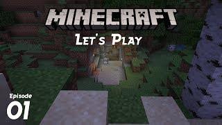 Minecraft Let's Play 1.14   Episode 1: Hidey Hole Found!