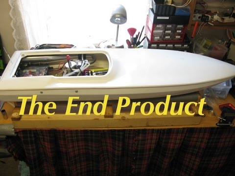 Zenoah Engine Boat Build Part - 14  Finished !