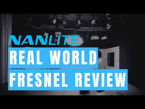 Real World Review: NanGuang Fresnel Lights