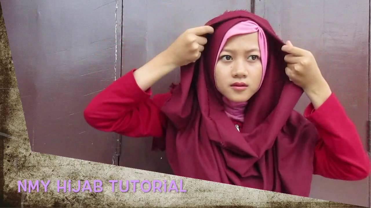 Tutorial Hijab Pashmina Rawis Simple Trend Hijab 2016 Terbaru By Nmy Hijab Tutorials Youtube