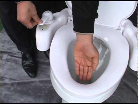 Eb 3500 Woman Spray Eureka Bidet Toilet Seat Youtube