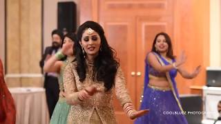 Bride Wedding Dance Performance   Medley of hit Bollywood songs mp4
