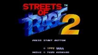 Streets Of Rage 2 - Walkthrough (Sega Genesis)