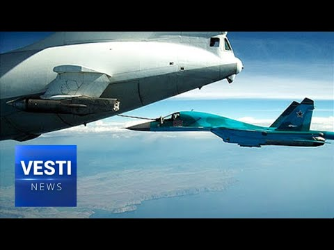 Russian Pilots Begin Training On Difficult Mid-Air Refuel Procedures