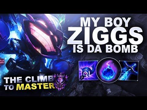 MA BOY ZIGGS IS DA BOMB - Climb to Master | League of Legends thumbnail