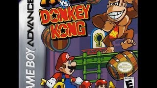 Mario vs. Donkey Kong  (Nintendo Game Boy Advance) - World 1