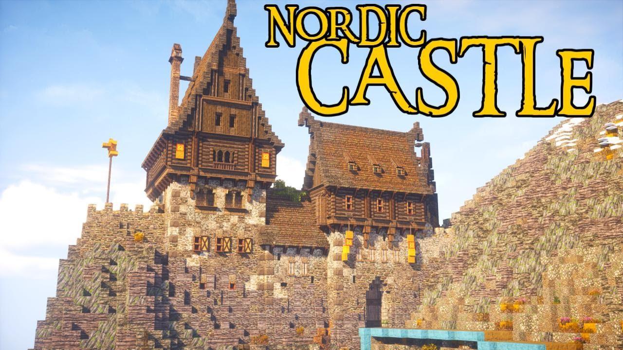 Nordic Minecraft Castle Timelapse