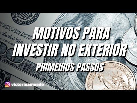 Live primeiros passos no exterior - Motivos para internacionalizar a sua carteira.
