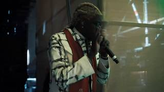 Young Thug in Saudi Arabia | Dakar Rally Closing Performance 2020
