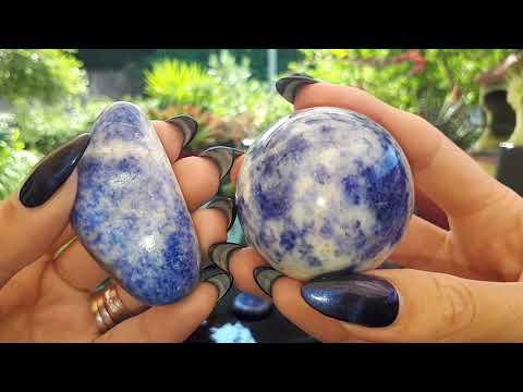 ЛАЗУРИТ - Божественный Камень | Lapis Lazuli | Мои камни и кристаллы | Свойства и магия камня.