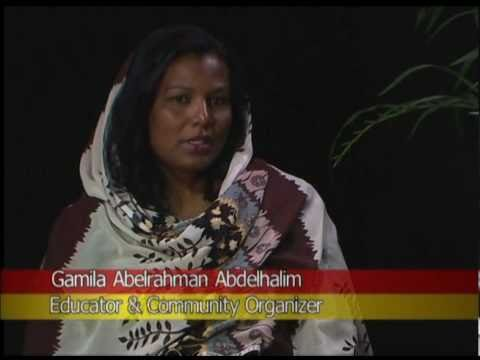 Gamilah Abdelrahman Abdelhalim from the Sudanese Society on Arab TV