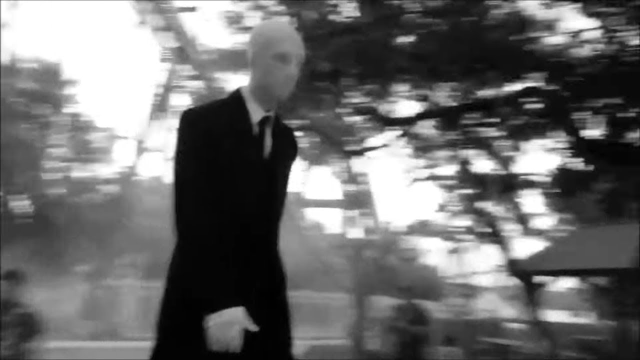 Slender Man Sighting At Sea World Quot Howl O Scream Quot Youtube