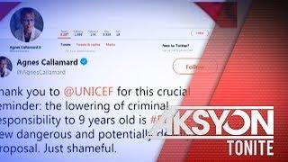 Palasyo, may buwelta sa pahayag ni UN Special Rapporteur Callamard