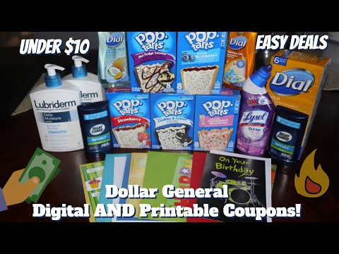Dollar General Couponing This Week - Cheap Everyday Items. Learn How To Coupon And Get Free Stuff!