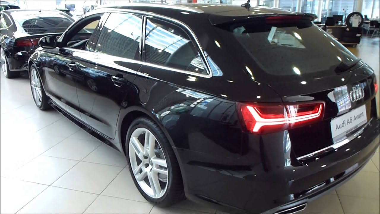 2015 audi a6 avant 39 39 s line 39 39 exterior interior see also playlist youtube. Black Bedroom Furniture Sets. Home Design Ideas