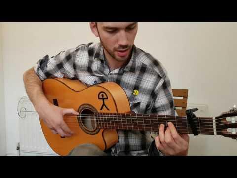 Tangos Flamenco Guitar Lesson - Rasgueado, Rest Strokes, Arpeggio, Hammerons and Pull-Offs