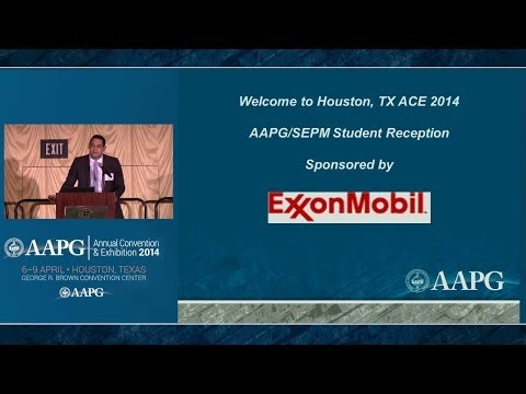 ACE 2014 AAPG/SEPM Student Reception