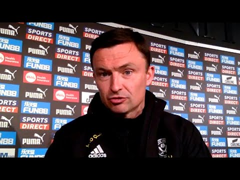 Newcastle 1-0 Sheffield United - Paul Heckingbottom - Post-Match Press Conference