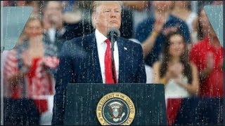LOL!!! CRY BABY Donald Trump Got His Military Parade RAINED On!