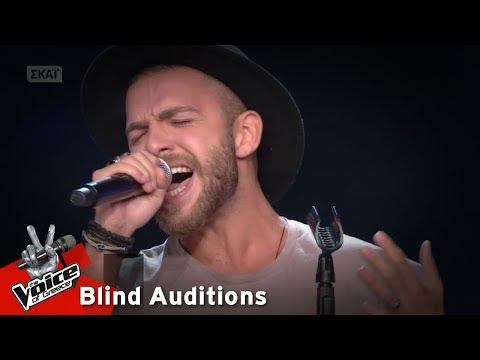 Χάρης Κορνάρος - Lady grinning soul | 6o Blind Audition | The Voice of Greece