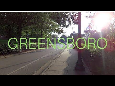 Exploring Downtown Greensboro and UNCG