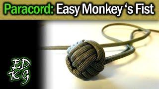 Simple Paracord: Monkey