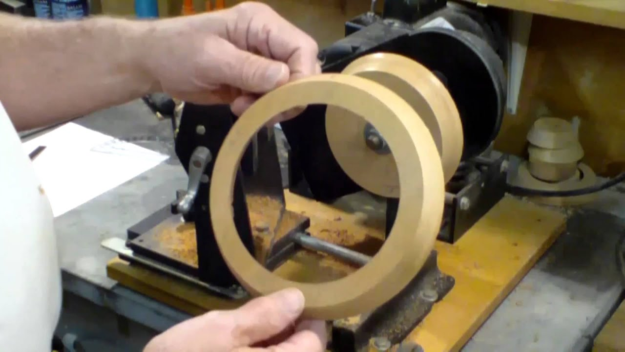 how from make pic veneer something lathe wood rings to
