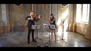 Sentient Duo ♠  - G.F. Händel / J.Halvorsen Passacaglia for two Violins Tymur Melnyk Tracy Liu Wen
