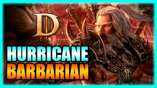 Diablo 3 - Hurricane Barbarian Whirlwind Torment 10 Farming Build! Patch 2.3 Gameplay