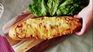 Багет с начинкой (Baguette with filling)