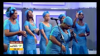 "Ntondozi Gospel Group on their 8th album ""Ukuzithoba Kwenu"""